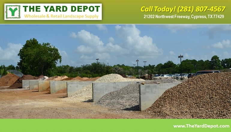 Bin of Materials TheYardDepot.com Houston Landscape Supplier | www.TheYardDepot.com