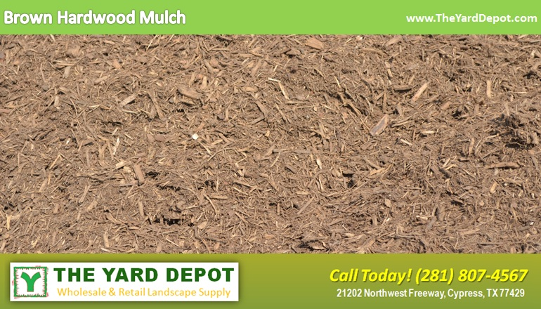Brown Hardwood Mulch TheYardDepot.com Houston Landscape Supplier | Landscape Supplier Houston