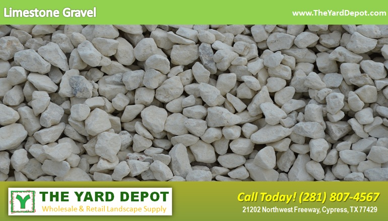 Limestone Gravel Theyarddepot Houston Landscape Supplier