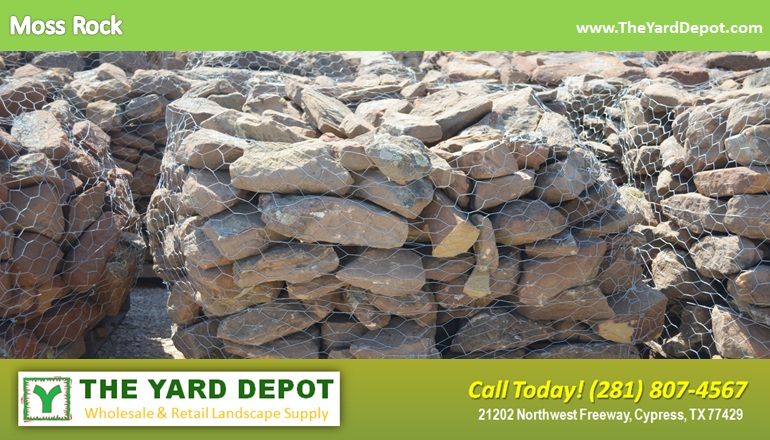 Moss Rock TheYardDepot.com Houston Landscape Supplier