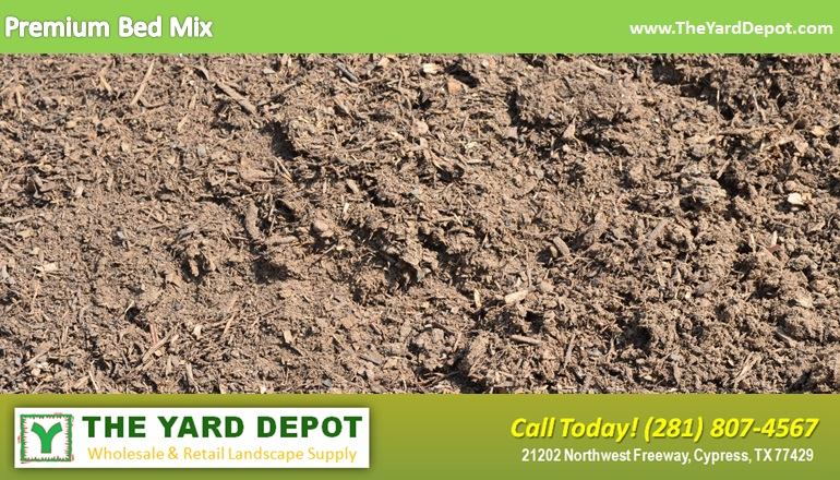 Premium Bed Mix TheYardDepot.com Houston Landscape Supplier | www.TheYardDepot.com
