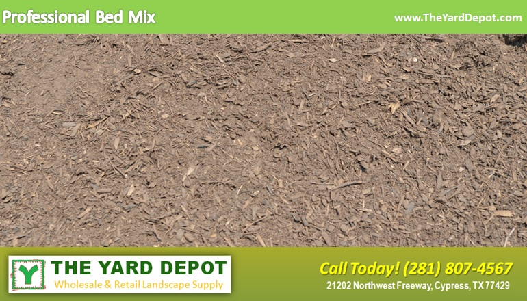 Professional Bed Mix TheYardDepot.com | Houston Landscape Supplier | Landscape Supplier Houston