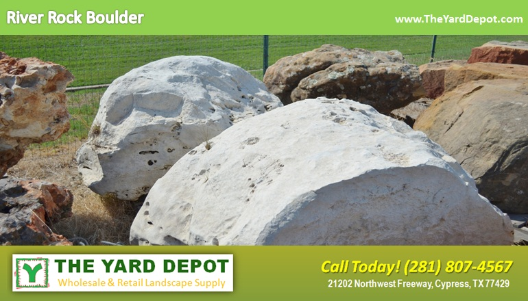 River Rock Boulder 1 TheYardDepot.com Houston Landscape Supplier | Landscape Supplier Houston