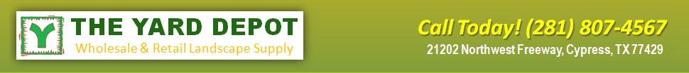 The Yard Depot in Cypress | Wholesale Landscape Material Supplier | Retail Bulk Landscape Material Supplier | (281) 807-4567