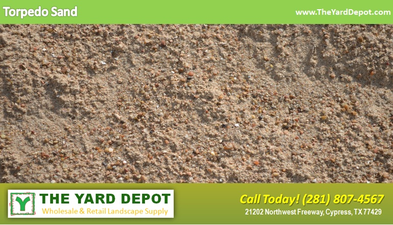 Torpedo Sand TheYardDepot.com | Houston Landscape Supplier | Landscape Supplier Houston