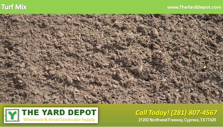 Turf Mix TheYardDepot.com Houston Landscape Supplier | www.TheYardDepot.com