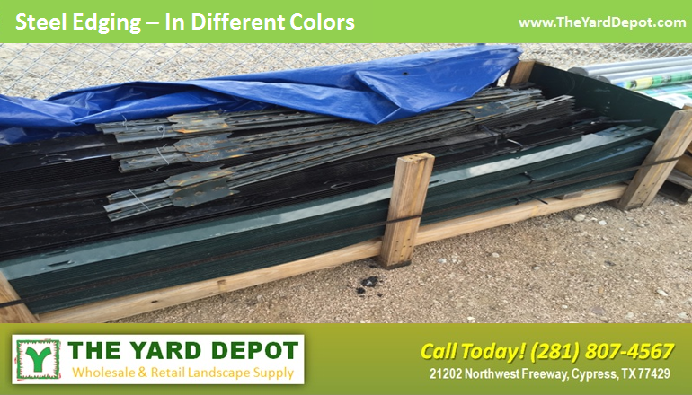 Steel Edging In Different Colors - TheYardDepot