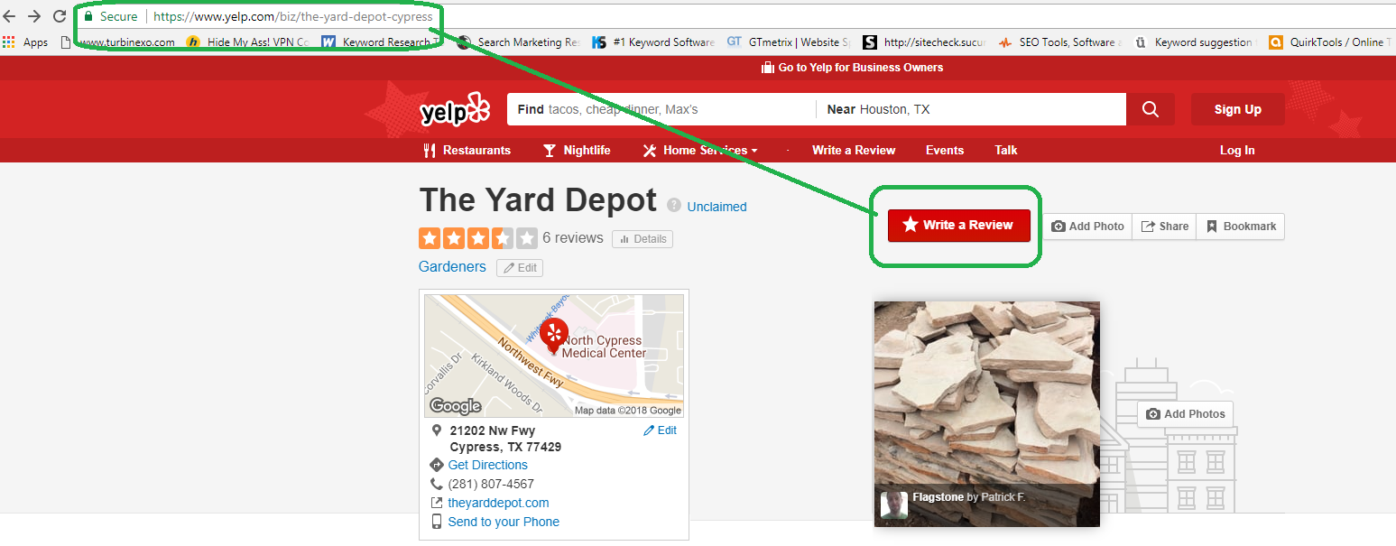 Yelp-Review-TheYardDepot