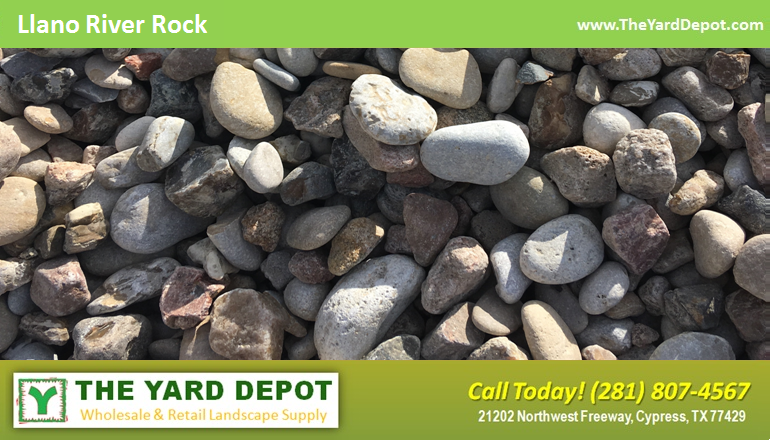 Llano River Rock - - The Yard Depot - Wholesale Landscape Supplier in Houston