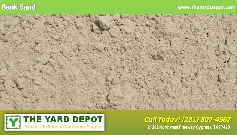 Bank Sand TheYardDepot.com Houston Landscape Supplier   Landscape Supplier Houston