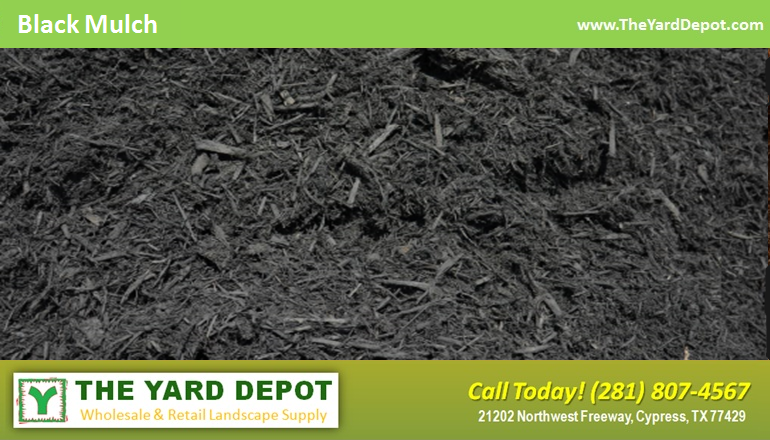 Black Hardwood Mulch TheYardDepot.com Houston Landscape Supplier | Landscape Supplier Houston