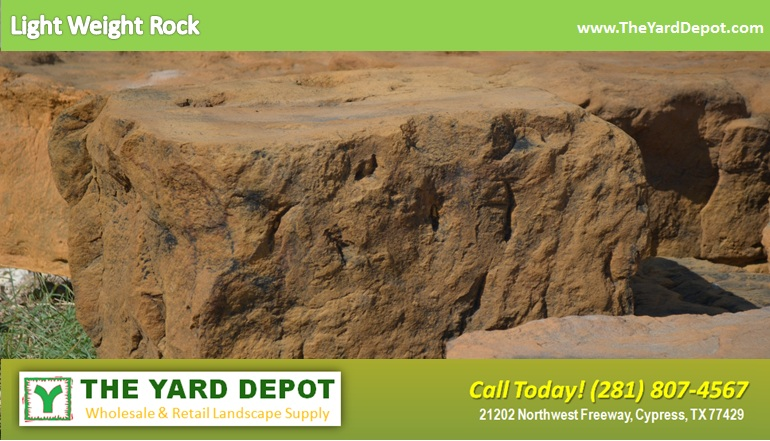 Light Weight Rock TheYardDepot.com Houston Landscape Supplier | www.TheYardDepot.com