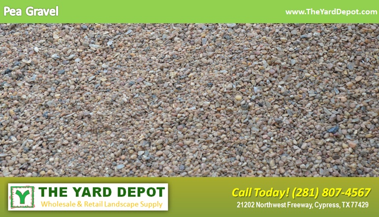 Pea Gravel TheYardDepot.com Houston Landscape Supplier | Landscape Supplier Houston