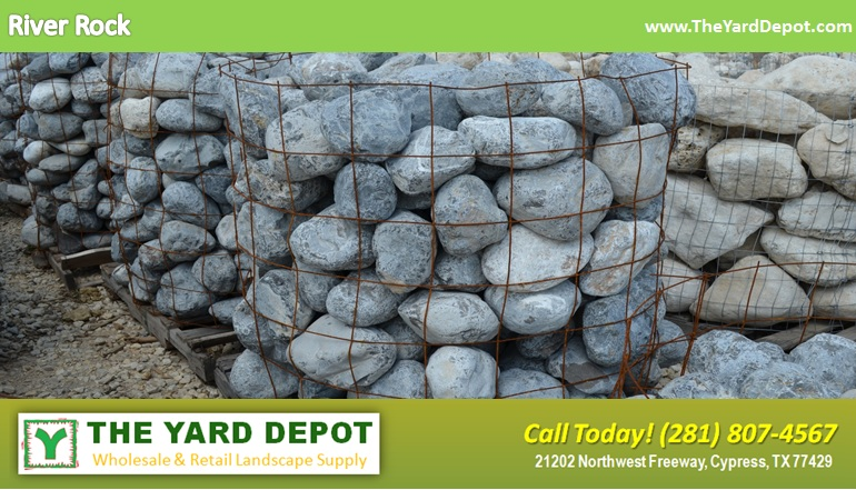 River Rock TheYardDepot.com Houston Landscape Supplier | www.TheYardDepot.com