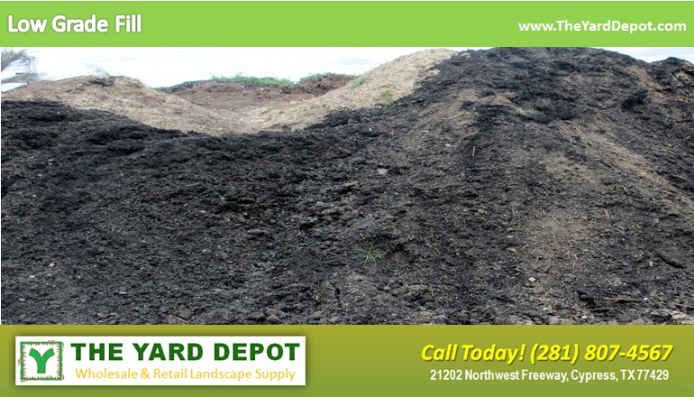 Low Grade Fill TheYardDepot.com | Houston Landscape Supplier | Landscape Supplier Houston